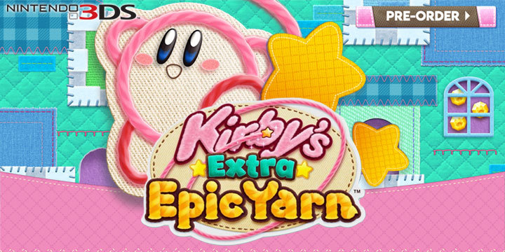 Kirby's Extra Epic Yarn, Kirby, Nintendo 3DS, US, Europe, Japan, Nintendo, gameplay, features, release date, price, trailer, screenshots