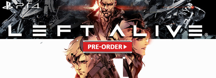 Left Alive, Square Enix, PS4, PlayStation 4, US, Europe, Australia, Japan, Asia, gameplay, features, release date, price, trailer, screenshots, update, launch trailer