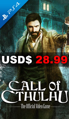 CALL OF CTHULHU: THE OFFICIAL VIDEO GAME Maximum Games
