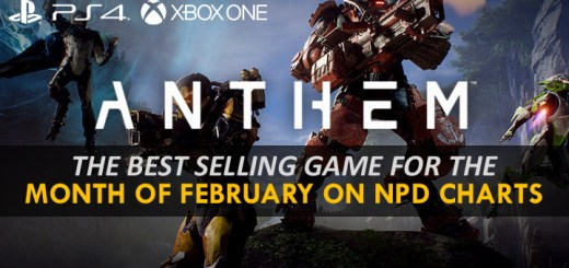 EA, Electronic Arts, Anthem, PS4, XONE, PlayStation 4, Xbox One, US, Europe, Japan, Asia, Bioware, charts, sales, NPD charts