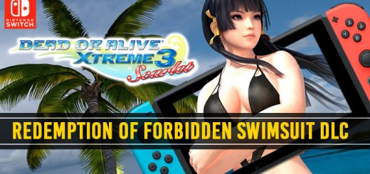 Dead or Alive Xtreme 3: Scarlet, Dead or Alive Xtreme 3, Dead or Alive, Koei Tecmo, Team Ninja, Switch, Asia, update, news, Forbidden Swimsuit, DLC