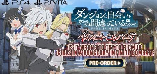 Is It Wrong to Try to Pick Up Girls in a Dungeon? Infinite Combate, Is It Wrong to Try to Pick Up Girls in a Dungeon Infinite Combate, Danjon ni Deai o Motomeru no wa Machigatteiru Darou ka? Infinite Combate, ????????????????????????? ??????·?????, release date, price, PS4, PS Vita, PlayStation 4, Japan, gameplay, pre-order