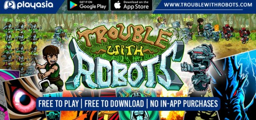 Trouble With Robots, Playasia, iOS, Android, free to play, free to download, free, mobile game