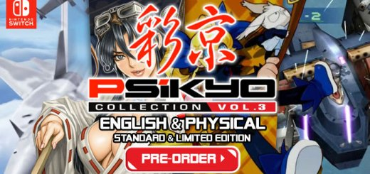 Psikyo Collection Vol. 3, Psikyo, H2 Interactive, release date, features, Limited Edition, price, game, Asia, Nintendo Switch, Switch, pre-order