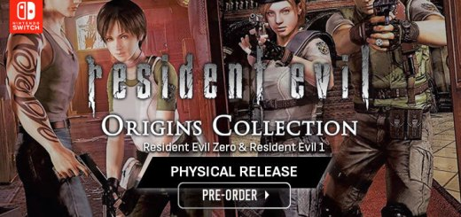 Resident Evil: Origins Collection, Nintendo Switch, Switch, Resident Evil Zero, Resident Evil 1, Remaster, release date, price, gameplay, features, physical, pre-order, Capcom