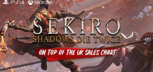 Sekiro: Shadows Die Twice, Activision, FromSoftware, US, Europe, Japan, Asia, PS4, PlayStation 4, XONE, Xbox One, sales, updates, UK Sales Chart