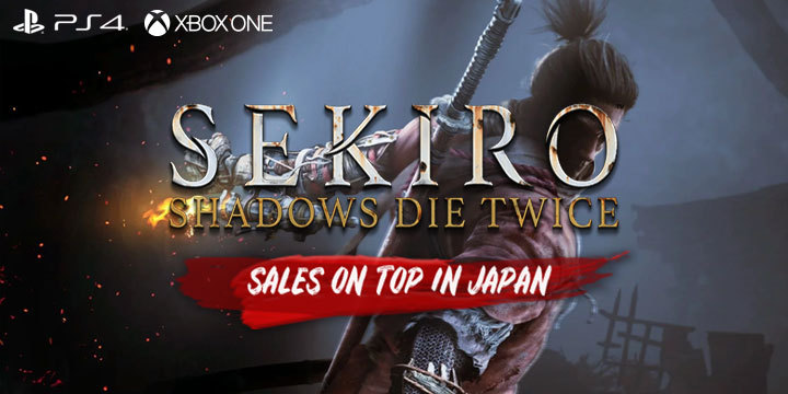 Sekiro: Shadows Die Twice - On Top of the Japanese Sales Chart