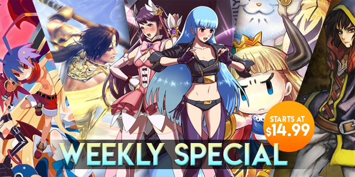 WEEKLY SPECIAL: SNK Heroines, Disgaea 1, Warriors Orochi 4, & More!