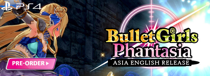 Bullet Girls Phantasia, H2 Interactive, Asia, English, price, release date, features, gameplay, pre-order, PlayStation 4, PS4, Multilanguage