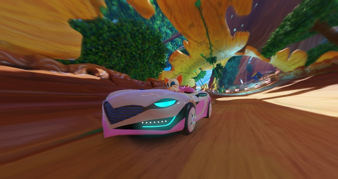 Team Sonic Racing - Driving to the Asia Pacific with English and