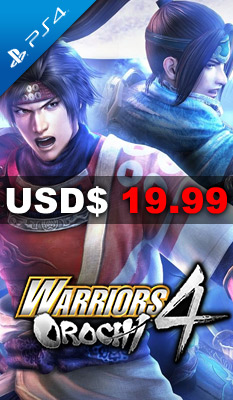 WARRIORS OROCHI 4 Koei Tecmo Games