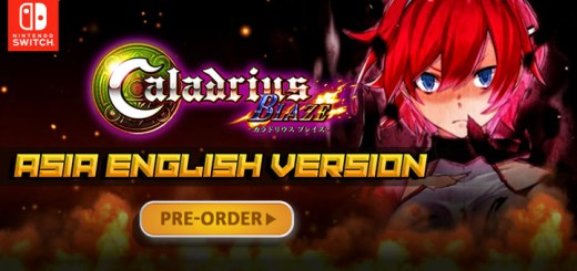 Caladrius Blaze, Multi-language, English, Nintendo Switch, Switch, Asia, H2 Interactive