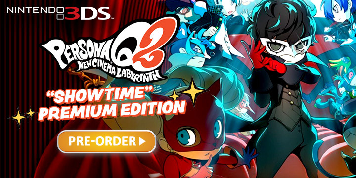 Persona, Persona Q2: New Cinema Labyrinth, Atlus, Nintendo 3DS, 3DS, localization, US, Europe, Western release