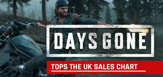 Days Gone, PS4, PlayStation 4, US, Europe, Asia, Japan, update, sales, UK sales chart