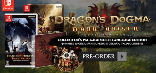 Dragon's Dogma: Dark Arisen, Capcom, Nintendo Switch, Switch, release date, pre-order, price, features, game, US, North America, Japan, Collector's Package, Multi-Language, Limited Edtion,ドラゴンズドグマ: ダークアリズン