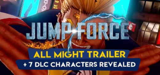 Jump Force, PlayStation 4, Xbox One, gameplay, price, features, US, North America, Europe, update, news, DLC, All Might, My Hero Academia, release date, new trailer, DLC characters