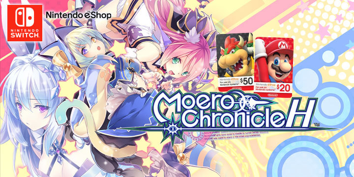 Moero Chronicle H for Switch - Is this love or am I dreaming?