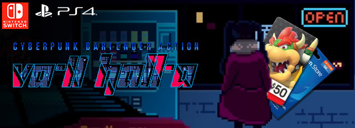 VA-11 Hall-A, VA-11 Hall-A: Cyberpunk Bartender Action, PS4, Switch, PlayStation 4, Nintendo Switch, Japan, Western, US, Europe, update
