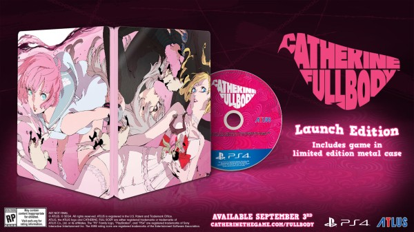 Catherine, Catherine: Full Body, Atlus, US, Europe, PlayStation 4, PS4, localization, Western release