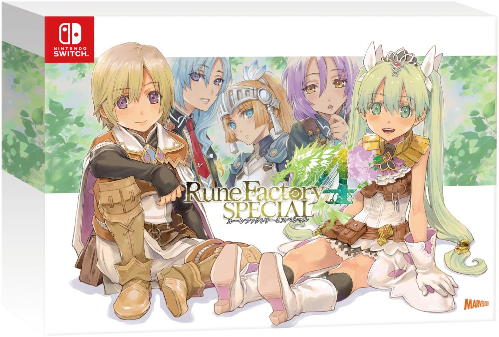 Rune Factory 4 Special Memorial Box (Limited Edition), Rune Factory 4, Rune Factory 4 Special Memorial Box, Limited Edition, Switch, Nintendo Switch, features, price, release date, pre-order, Japan
