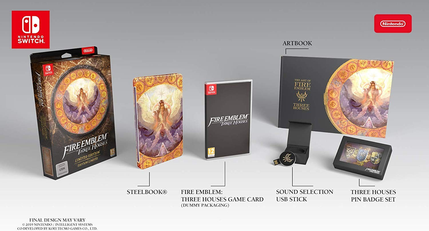 Fire Emblem: Three Houses, Nintendo, Europe, PAL, game, release date, pre-order, gameplay, features, price, Nintendo Switch, Switch, Limited Edition
