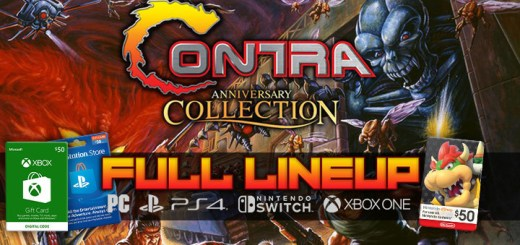 Contra Anniversary Collection, Konami 50th Anniversary Collections, Konami Anniversary Collections, Castlevania, Arcade Classics, Contra, PS4, Switch, Xbox One, PC, PlayStation 4, Nintendo Switch, 2019, digital, Konami, release date, price