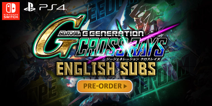 SD Gundam G Generation Cross Rays: Coming to Asia with