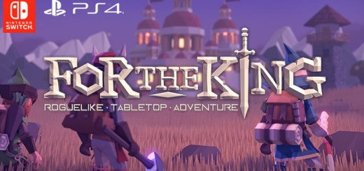 For The King, PS4, Switch, US, Europe, PlayStation 4, Nintendo Switch, Merge Games