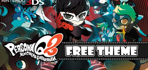 Persona, Persona Q2: New Cinema Labyrinth, Atlus, Nintendo 3DS, 3DS, localization, US, Europe, Western release, theme, free theme, update