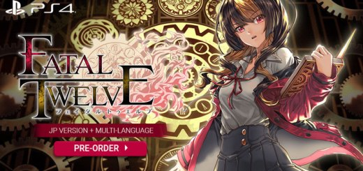 Fatal Twelve, Prototype, English, English text, Multi-Language, release date, price, Japan, JP, JP version, ps4, PlayStation 4