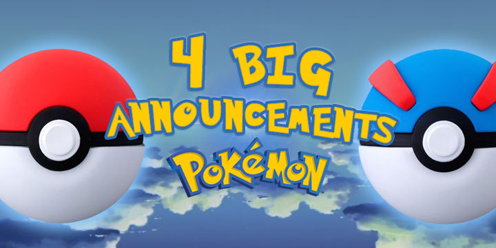 Four BIG Announcements from Pokemon Press Conference 2019!