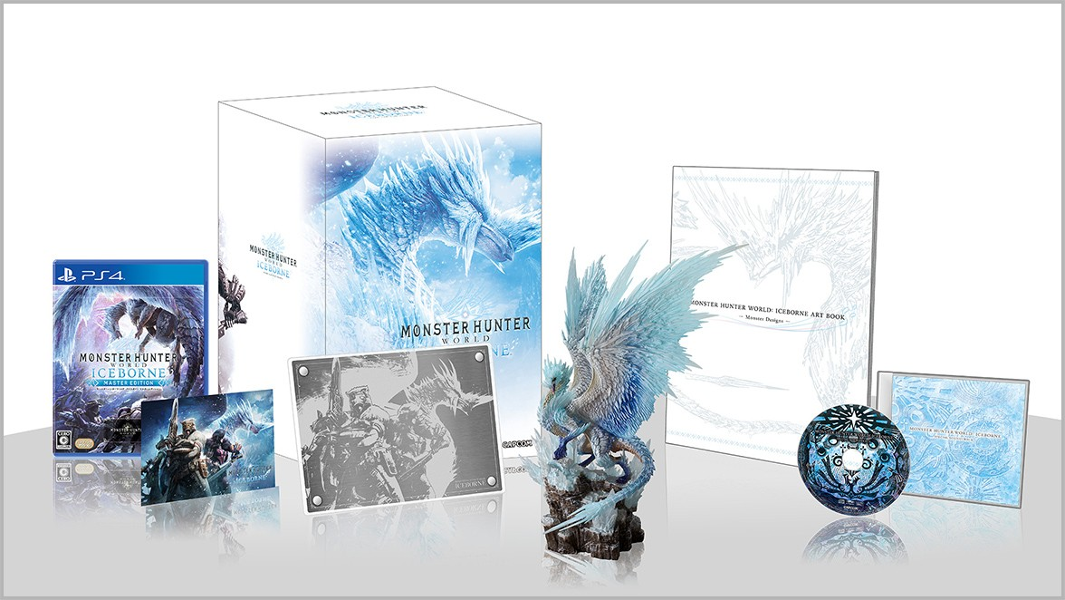 Monster Hunter World: Iceborne Collector's Edition, Monster Hunter World: Iceborne Master Edition, Monster Hunter World, Master Edition, PlayStation 4, Japan, release date, gameplay, features, price, game, Capcom, pre-order, Collector's Edition