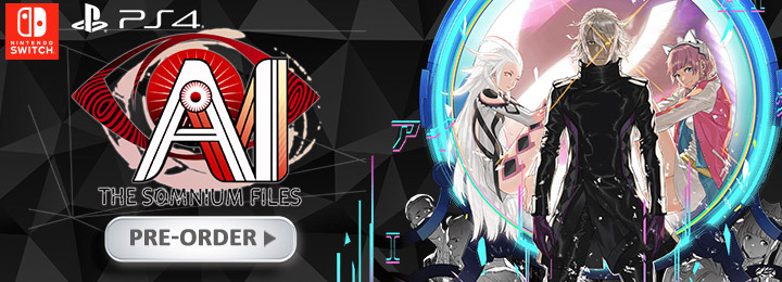 AI: The Somnium Files, Multi-Language, release date, gameplay, features, price, pre-order, PlayStation 4, Nintendo Switch, PS4, Switch, Spike Chunsoft, Japan, US, Asia, North America