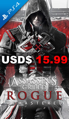 Assassin's Creed Rogue Remastered, Ubisoft