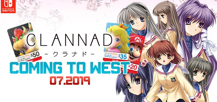 Clannad, Nintendo Switch, Switch, English, West, release date, gameplay, features, price, prototype, update, news, digital