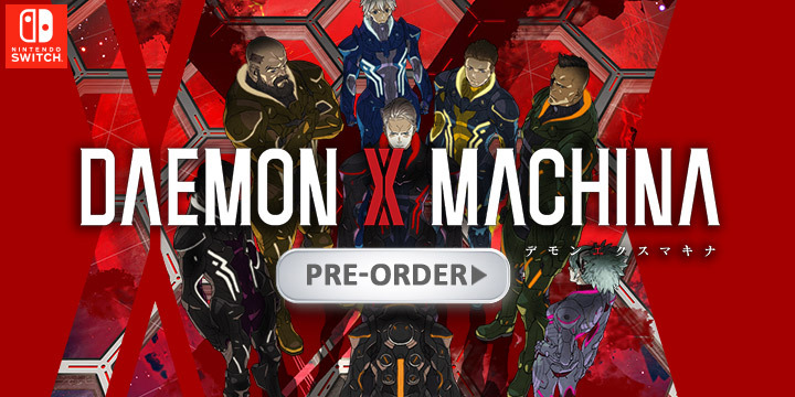 Daemon x Machina, Switch, Nintendo Switch, US, Europe, Japan, Pre-order, Nintendo, E3, E3 2019