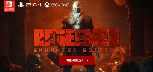 Redeemer, Redeemer [Enhanced Edition], Enhanced Edition, PS4, XONE, Switch, PlayStation 4, Xbox One, Nintendo Switch, Europe, Pre-order