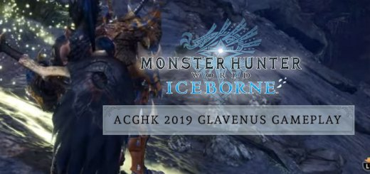 Monster Hunter World: Iceborne Master Edition, Monster Hunter World, Master Edition, PlayStation 4, Xbox One, North America, US, Japan, Capcom, update, ACGHK 2019, Glavenus gameplay
