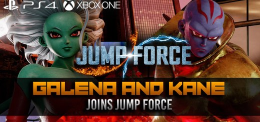 Jump Force, PlayStation 4, Xbox One, gameplay, price, features, US, North America, Europe, update, news,  DLC, galena, kane