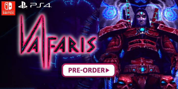 Valfaris, PS4, Nintendo Switch, Switch, Europe, Merge Games, PlayStation 4, Pre-order