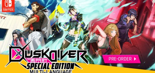 Dusk Diver, Dusk Diver Special Edition, Nintendo Switch, Switch, PlayStation 4, PS4, pre-order, JFI Games, Japan, release date, price, gameplay, features, price, multi-language