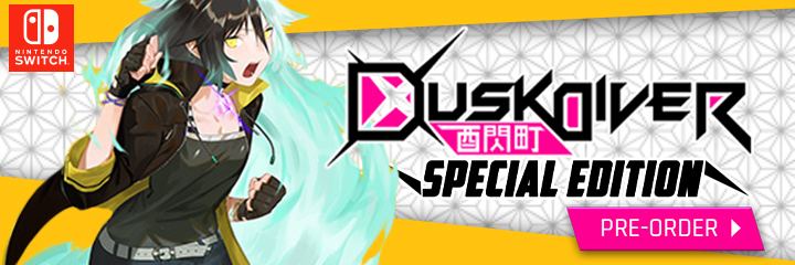 Dusk Diver, Dusk Diver Special Edition, Nintendo Switch, Switch, PlayStation 4, PS4, pre-order, JFI Games, Japan, release date, price, gameplay, features, price, multi-language, english