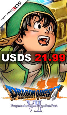 DRAGON QUEST VII: FRAGMENTS OF THE FORGOTTEN PAST Nintendo