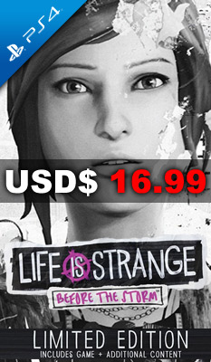 LIFE IS STRANGE: BEFORE THE STORM [LIMITED EDITION] Square Enix