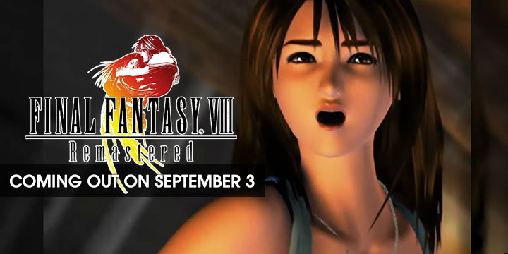 Final Fantasy VIII remastered, PS4, XONE, Xbox One, Playstation 4 , Switch, NIntendo Switch US, North America, EU, Europe, release date, gameplay, features, price, pre-order, square enix, new trailer, september 3