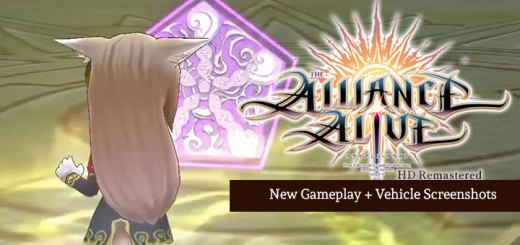 The Alliance Alive HD Remastered, switch, nintendo switch,ps4, playstation 4 , EU, US, europe, north america, AU, australia, japan, asia, release date, gameplay, features, price, pre-order, nis america, FuRyu, new gameplay, vehicle screenshots, update
