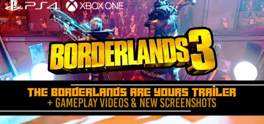 Borderlands 3, Borderlands, PS4, XONE, PlayStation 4, Xbox One, US, Europe, Australia, Japan, Asia, Chinese Subs, 2K Games, update, trailer, gameplay, screenshots, The Borderlands Are Yours