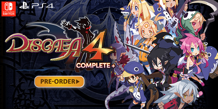 Disgaea 4 Complete+ Strategy RPG Coming to PS4 & Switch