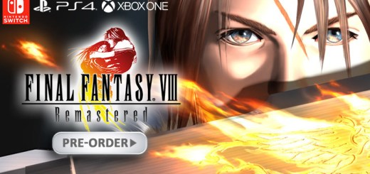 Final Fantasy VIII Remastered, Nintendo Switch, Switch, Playstation 4, PS4, XONE, XBox One, US,EU,North America, date, gameplay, features, price, pre-order, Square Enix, dotemu, final fantasy 8