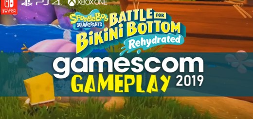 SpongeBob SquarePants: Battle for Bikini Bottom - Rehydrated, PS4, XONE, Xbox One, Playstation 4 , Switch, Nintendo Switch US, North America, EU, Europe, release date, gameplay, features, price, pre-order, thq nordic, gamescom 2019, purple lamp studios, spongebob